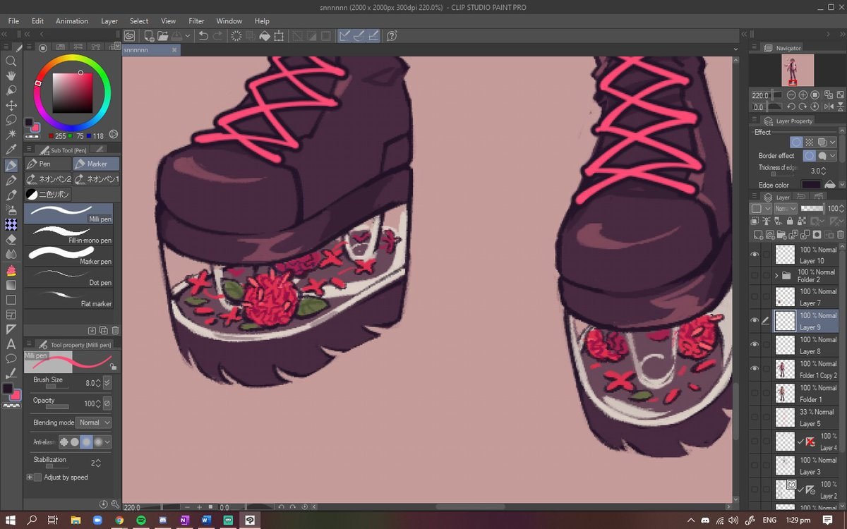 stream done!! thank u to everyone who came by :33 keeping the santan flower branding strong