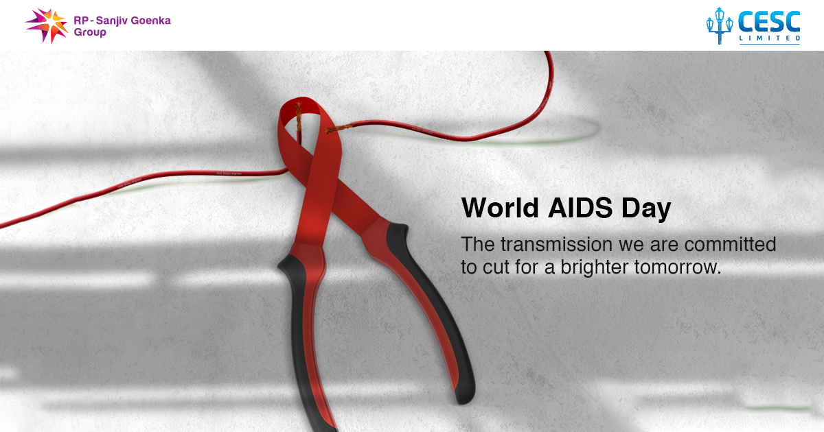 This World AIDS Day, let's unite to fight against the disease but not against the affected.  #cesc #cesclimited #cesckolkata #cescltd #worldaidsday #WAD2020 https://t.co/Qoa4b5TMlK