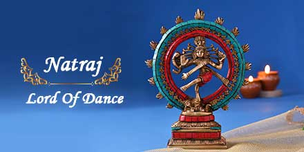"""Add cosmic colorful brass idol of Lord Shiva """"Natraj"""" in Tandav Dance pose to your personal collection. Visit for more such classical idols & figurines. https://t.co/nm63TxUG8y   https://t.co/SzzZJirBDh  #kedarnath #Kashi  #Handicraf  #vocalforlocal #KashiVishwanath   #makeininda https://t.co/7A3StLxSpd"""