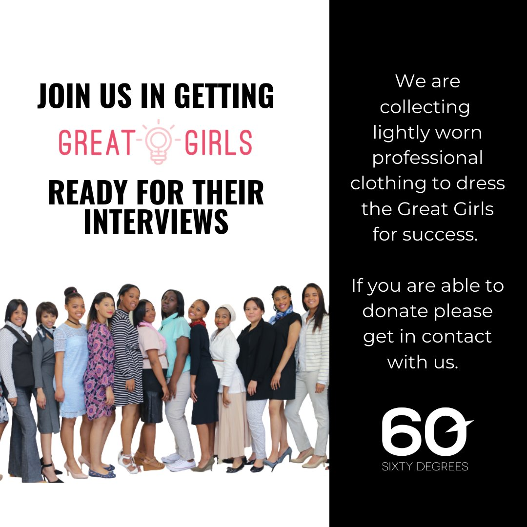 test Twitter Media - This Giving Tuesday, our team starts to collect clothing for the Great Girls 2021 cohort.  Please get in touch if you wish to donate.  #givingtuesday #greatgirlsct #60degrees https://t.co/KTtFPEBWCF