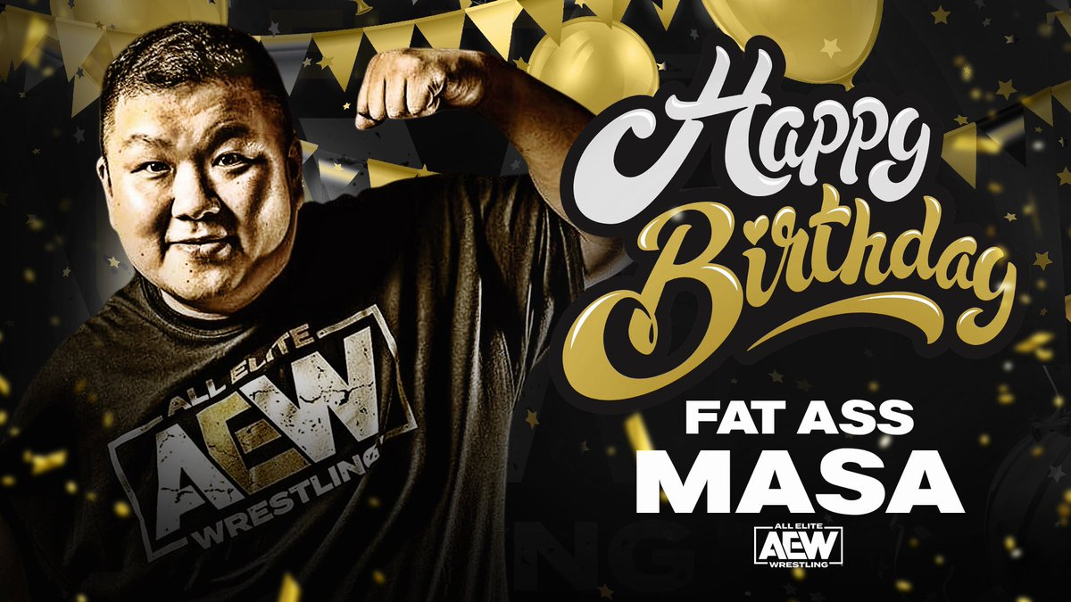 Happy Birthday to #BTE Alumni, and the best sponsor ever - Happy Birthday to our best friend #FatAssMasa @Masa_Anchan1971