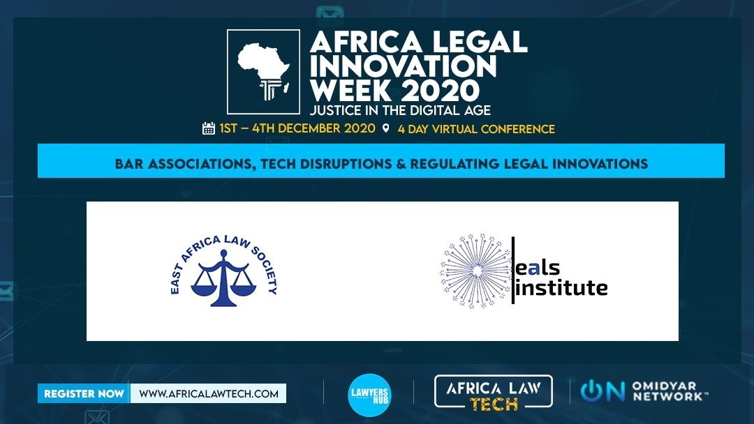 The @ealawsociety joins us today as part of the Africa Legal Innovation Week.  The assciation will share, among other insights, their views on regulation legal innovation and the role that #BarAssociations play in #LegalTech #Disruption. 🔗https://t.co/2X1SfPmRuw #AfricaLawTech https://t.co/tSLXZntqu2