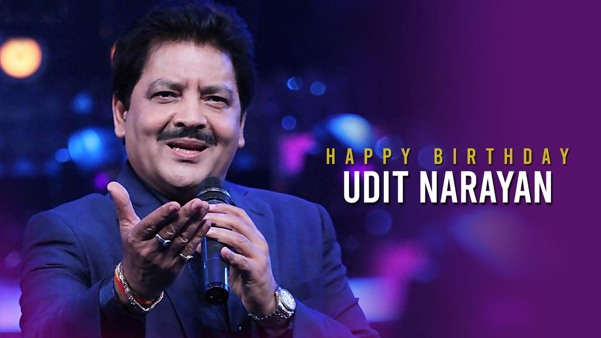 .@tipsofficial wishes the outstanding musician, @uditnarayan_ a very Happy Birthday! 🙏🏻  Listen to #TheMustHaveHits of #UditNarayan ALL DAY LONG here:   #HappyBirthdayUditNarayan