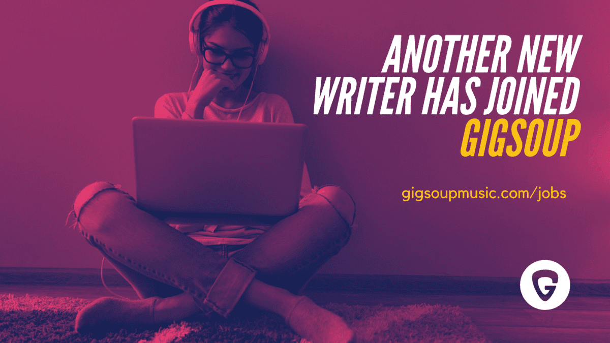 GIGsoup have just welcomed writer 8024 & you can join too. If you have no previous experience we can guarantee to kick-start your career. If you'd like to review albums or gigs then join today #musicblog #musicreview #bloggerswanted #musicjournalism - https://t.co/3vl87oUIwr https://t.co/e94Wi76tD3