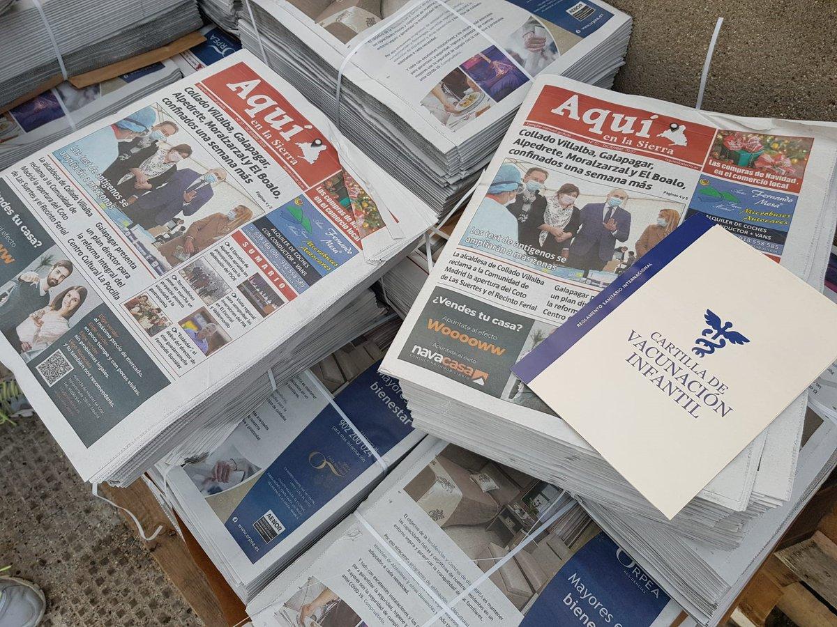 ¡Buenos días! Si resides en un municipio de la zona noroeste de #Madrid y estás pensando en unirte a @unicef_es, puedes hacerlo a través de la cartilla de vacunación que este mes incluye el diario @aquienlasierra🙏💙 #PequeñasSoluciones