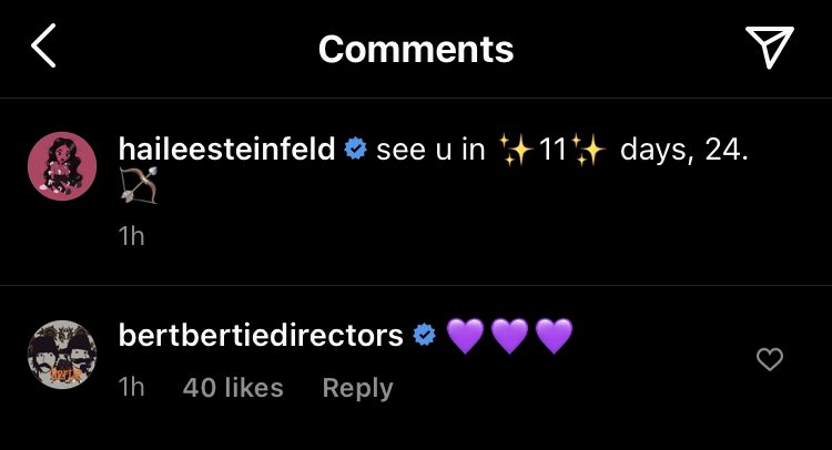 Bert and Bertie comment on Hailee Steinfeld