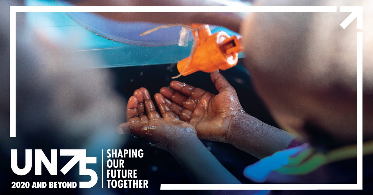 New data from 1 million+ people around the world indicates that, amid #COVID19, there is a global demand for improved access to healthcare🩺, safe water, sanitation🚰 & education📚. More results from #UN75 ➡️