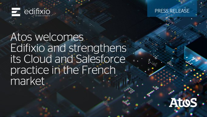 Bienvenue Edifixio! 🇫🇷Today, we're happy to welcome 370 consultants to the Atos team...