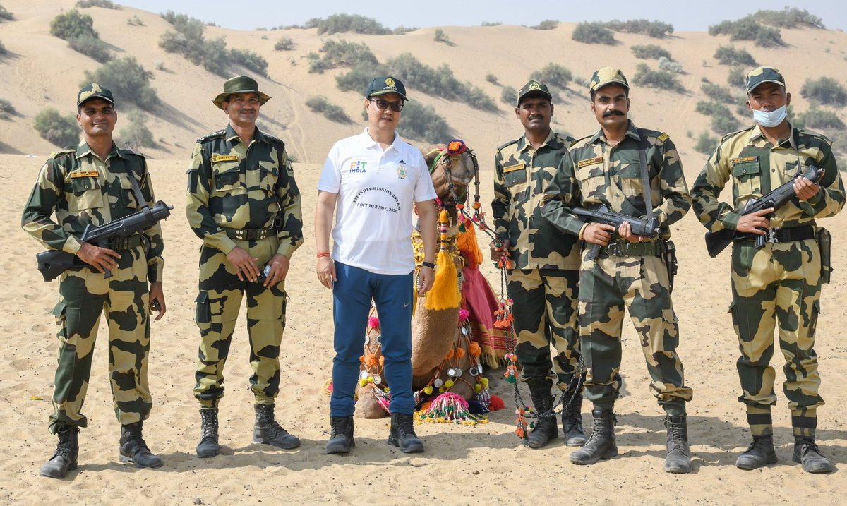 I extend my greetings to all the brave BSF personnel and their families on the occasion of their Raising Day. The nation is proud of the unwavering commitment of @BSF_India to protect our borders and security the citizens🙏