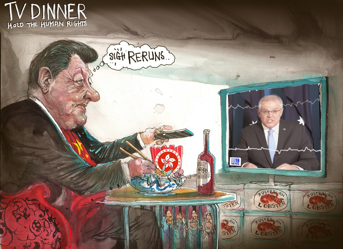 hold the human rights @FinancialReview