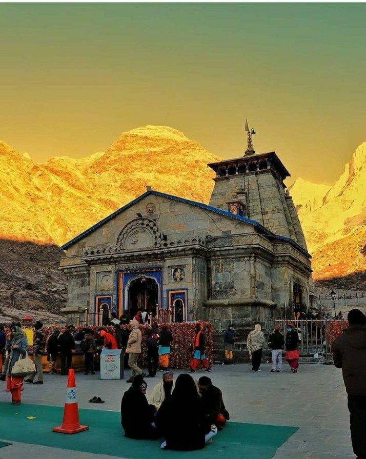 Heaven of Earth #Kedarnath #shivshankara #heaven #🙏🙏 https://t.co/uKylJnAyhQ