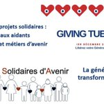 Image for the Tweet beginning: #GivingTuesday2020 c'est aujourd'hui!!  Parce sue la