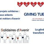 Image for the Tweet beginning: #GivingTuesday2020 c'est aujourd'hui!!  Parce sue la