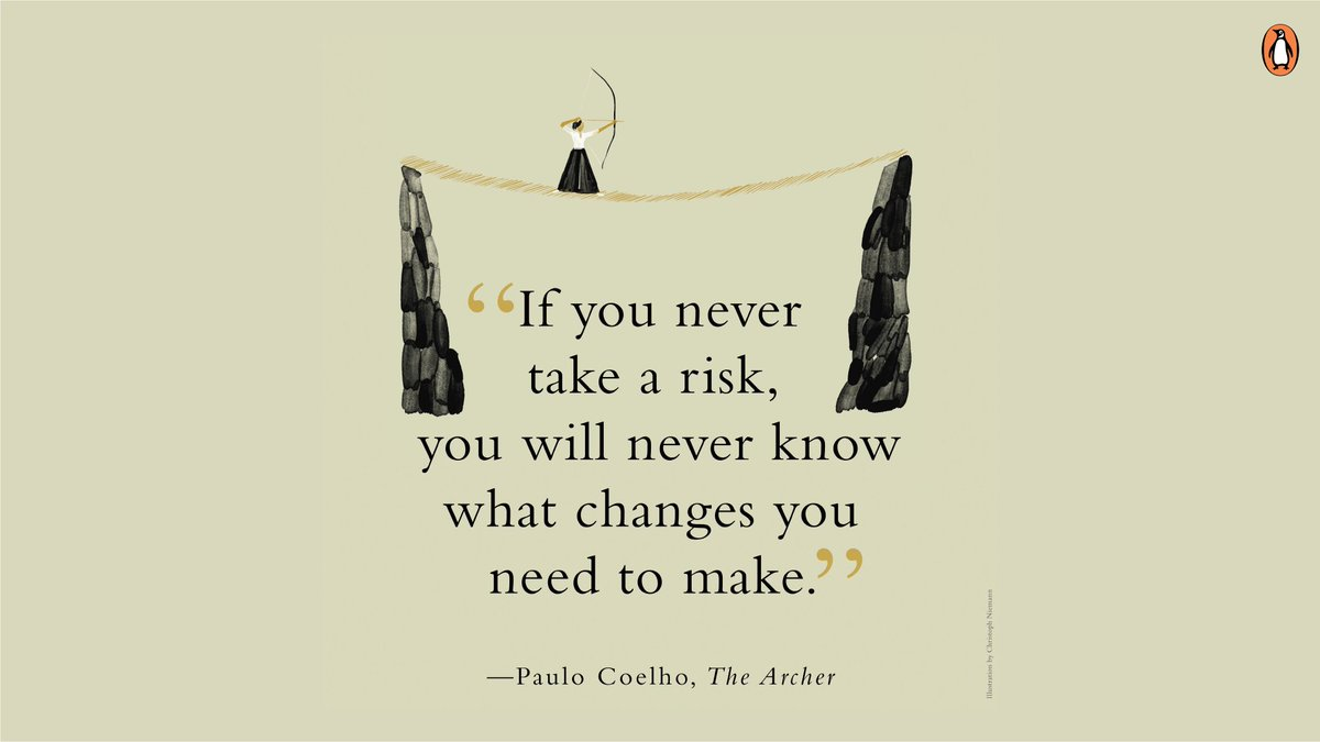 In his new book, THE ARCHER, @paulocoelho shares practical lessons to create a meaningful and rewarding life.  . #TheArcher #PauloCoelho #TuesdayThoughts