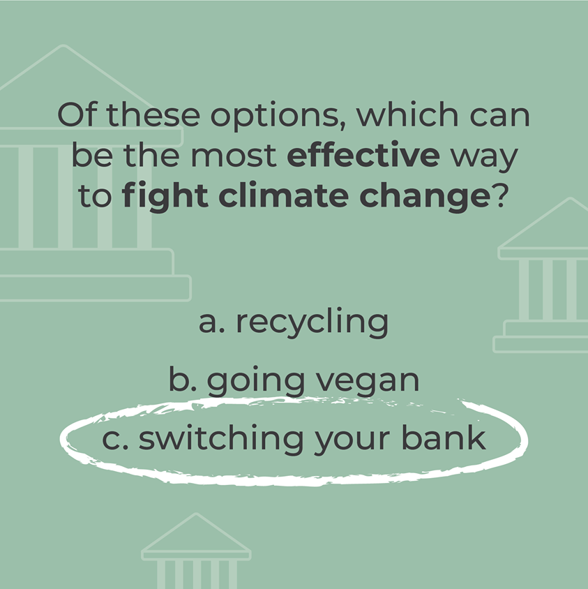 Are your providers are in line with your values or funding the climate crisis? Without knowing it, many of us are helping aid fossil fuels.   So what's the solution? Cut the money off at the source. Use a bank that is looking out for our planet. Find out how at @switchit_money https://t.co/vipjBRDjSK