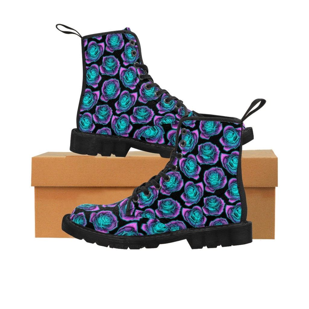 Excited to share the latest addition to my #etsy shop: Women's Neon Roses Canvas Boots https://t.co/9jjYl0OpJO  #boots #neon #roses #retro #martins #80s #women #girl #flower https://t.co/cRGBUw3AoE