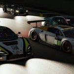 Congratulations to our boys @JaaamesBaldwin @Michael_OB94 @TobinLeigh55 on their mega podium finish in the Sim Grid 9 Hours of Kyalami. Thanks to @ZanshoSimsport and team for all your help #sim #esports