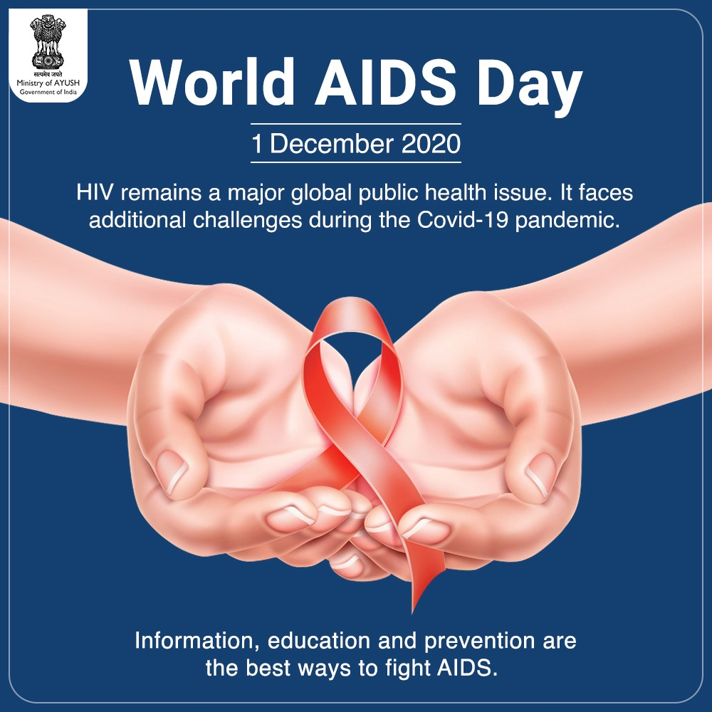 #WorldAIDSDay is observed  on the 1st December each year. It creates an opportunity for people worldwide to unite in the fight against HIV.  Conceived and started  in 1988, World #AIDSDay was the first-ever global health day to be observed.