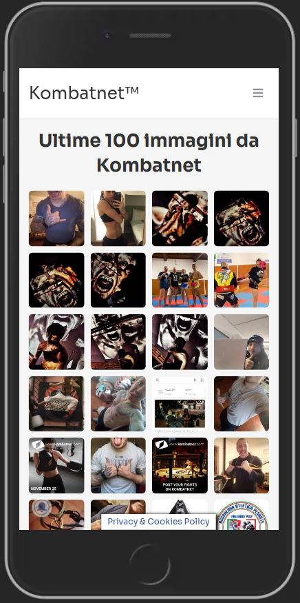 Le ultime 100 immagini da Kombatnet!  Potete accedervi da MENU > COMMUNITY > 100 PICS   https://t.co/gxQyA9QGI2  #kombatnet #immagini #social #fighting #combattimento #artimarziali #fighters #mma #k1 #kickboxing #pugilato #boxe #judo #ufc #aikido #kravmaga #savate #muaythai https://t.co/PQ9OS9J3ic