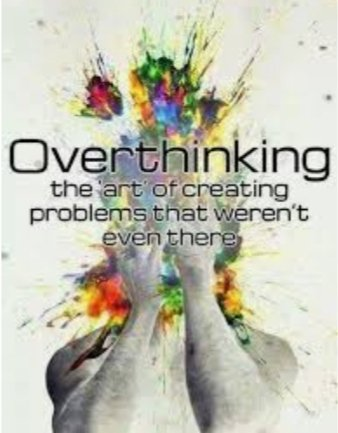 #OVERTHINKING is the art of creating #problems that weren't there,a major cause of #unhappiness keep yourself #occupied don't have unknown fears #thinkpositive #JoyTrain #SuccessTRAIN #lovemantra #TuesdayMotivation @KariJoys @gary_hensel @Sunita_Says_ @ahmednkhan @kalimullah2 ⚘ https://t.co/kmfU2ElDmI