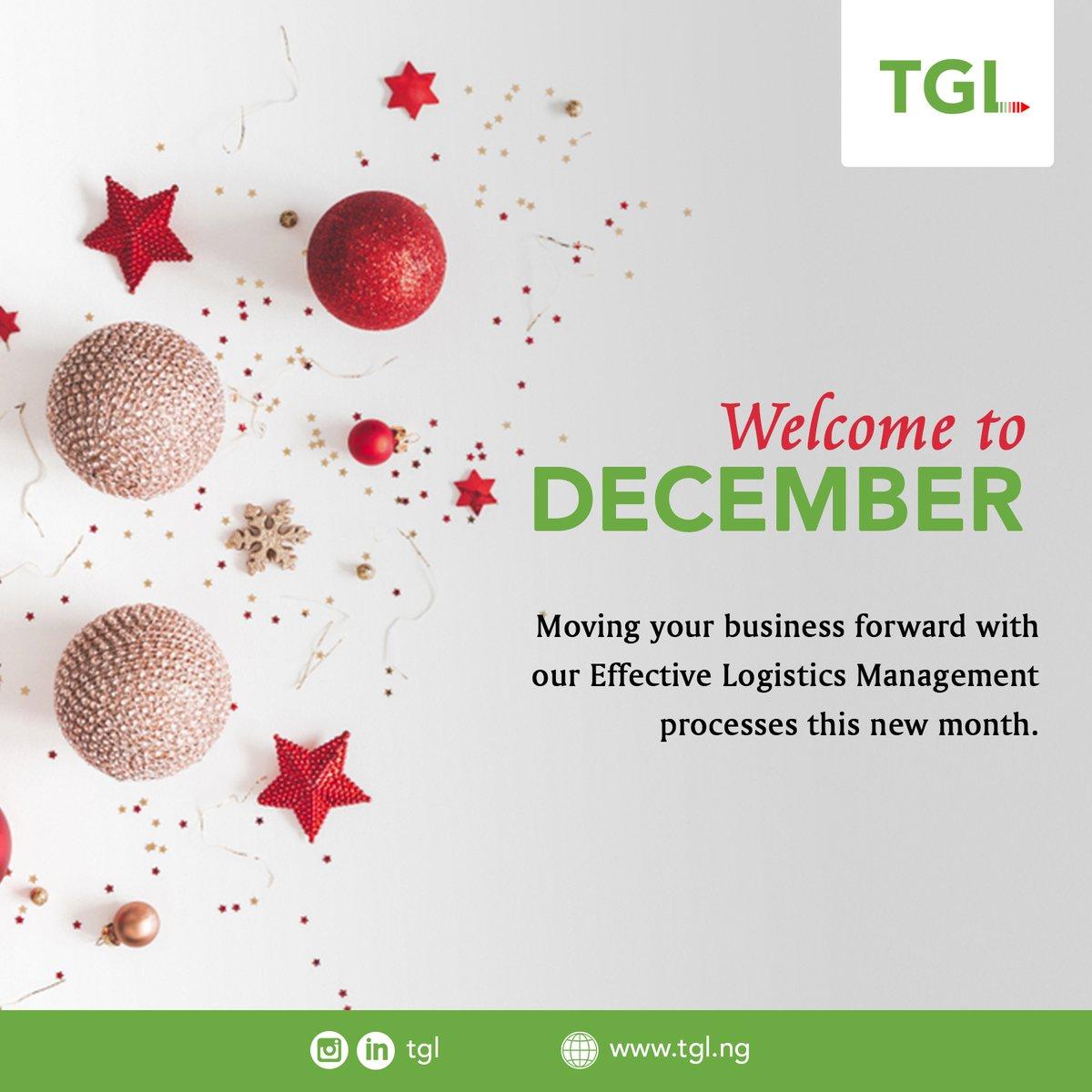 Happy New Month!  #December2020 #December #December1st #newmonth #happynewmonth #newmonth #tuesdaymotivation #logistics #logisticservices https://t.co/sO8ceWVFzK