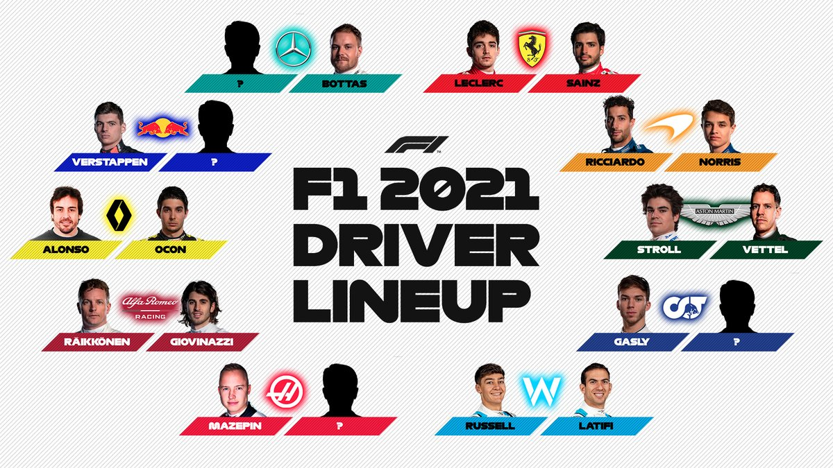 Another 2021 seat is confirmed 👀  #F1 https://t.co/NCsLBRXz1O