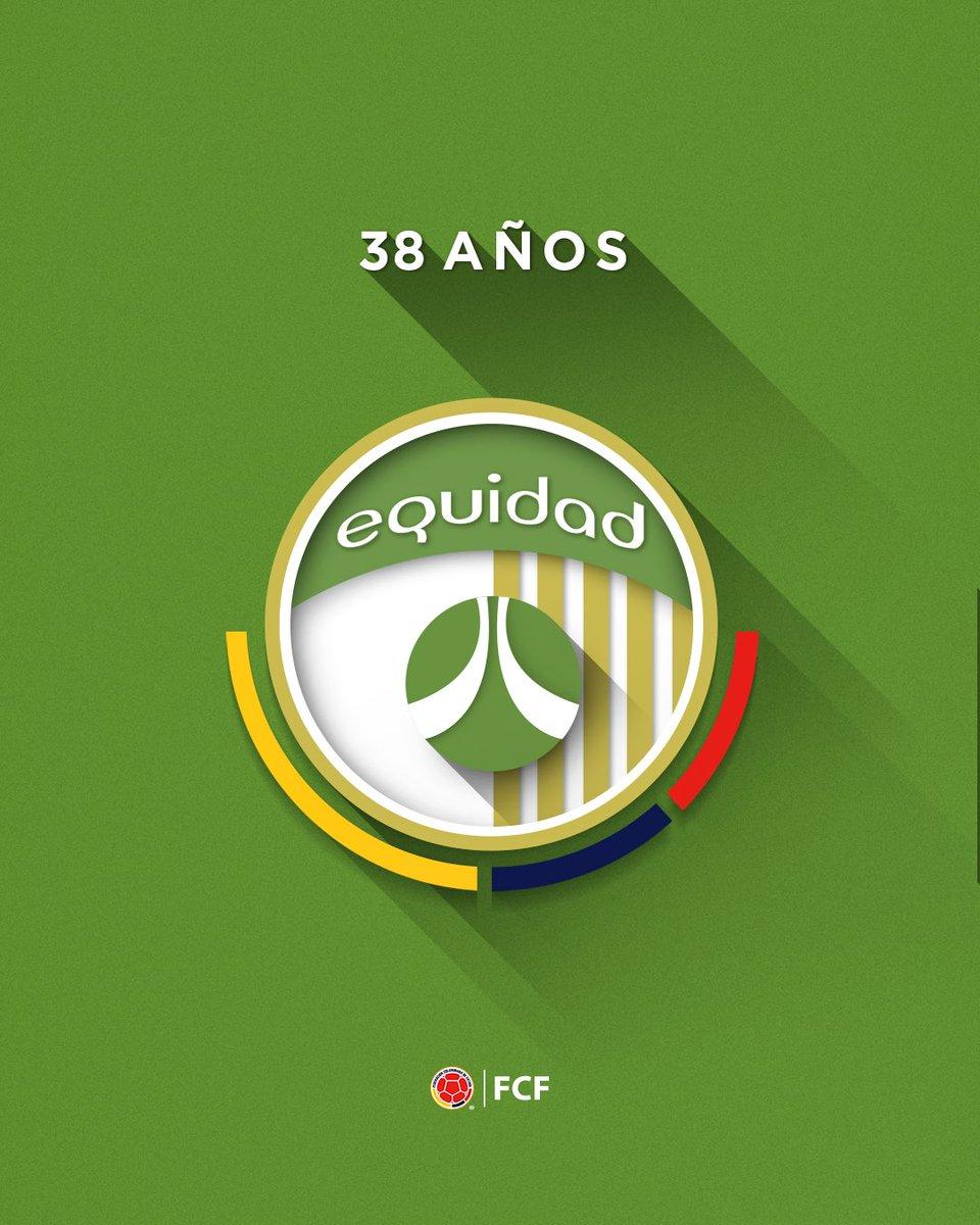 ¡Felices 3️⃣8️⃣ aseguradores!  Enviamos una gran felicitación a @Equidadfutbol en su aniversario 🤝  ¡Que sean muchos más ⚽🤙!