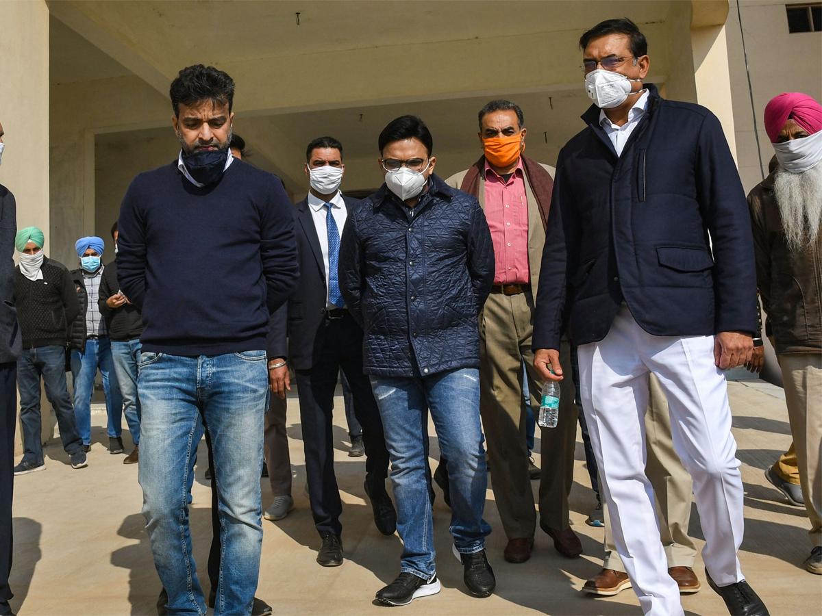 #BCCI #JayShah  @BCCI secretary @JayShah visits PCA's new stadium at Mullanpur  Read: