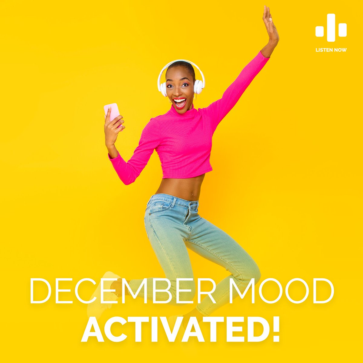 Hear that? Its the #FestiveVibes knocking on your door! Lift your festive spirits and activate the December mood with songs like #JohnVuliGate #Elamont #Indlove and more! Ke Decemba boss💥  🎧:  MTN customers currently.   #summervibes @MTNSwaziland