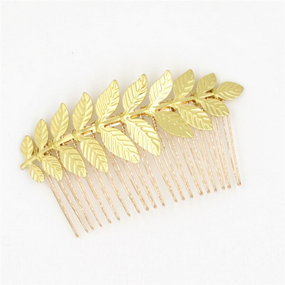 #weddingdetails #weddingseason Women's Leaf Shaped Hair Comb