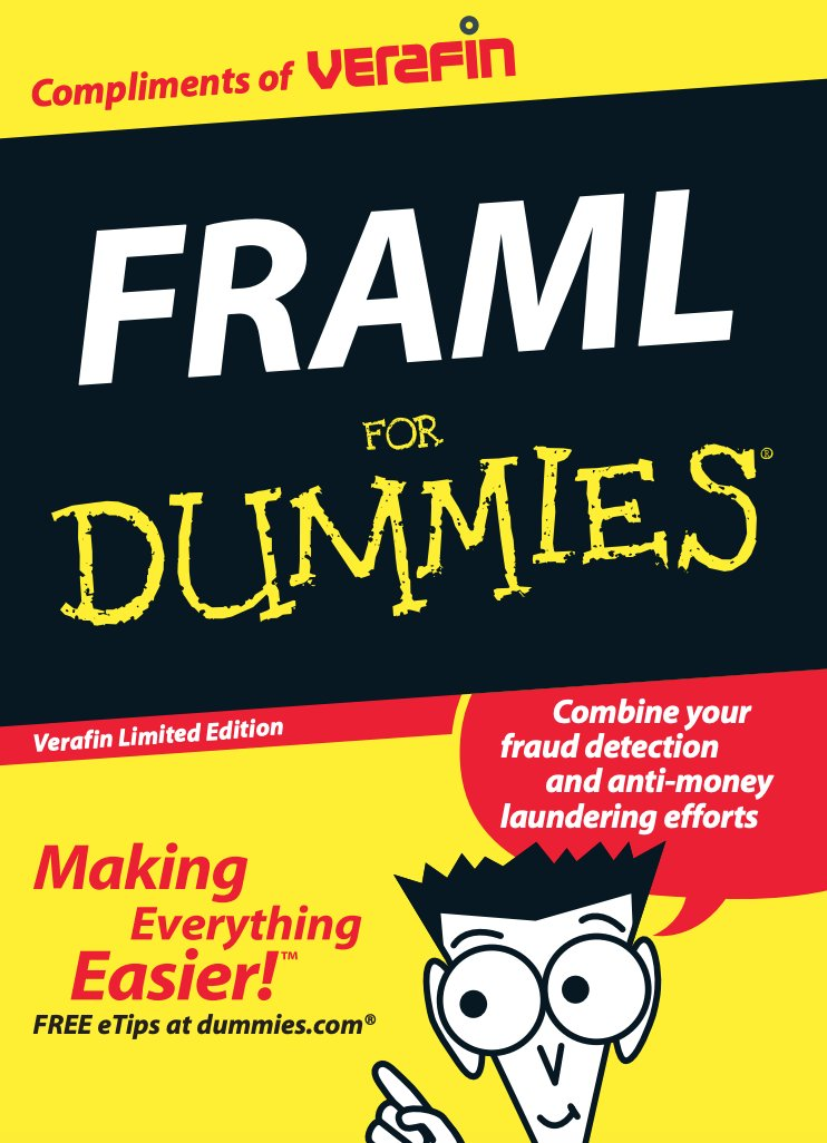 Nasdaq's new Verafin purchase sponsors an AML For Dummies book - actually not a bad read to learn the basics:  https://t.co/KYh4lhyLnD https://t.co/iBVmkXAoYr