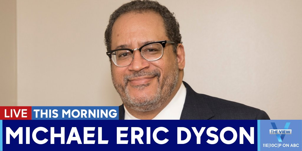 Replying to @TheView: THIS MORNING:@MichaelEDysonjoins us LIVE to discuss his new book,#LongTimeComing.