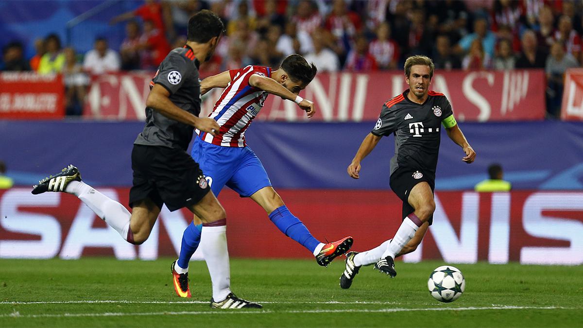 📚 Atleti have played Bayern twice at home ⬇️  27/04/2016 ✅ 1-0 win 28/09/2016 ✅ 1-0 win  🔴⚪ #AúpaAtleti ⚽️ #AtletiFCB | ⭐ #UCL