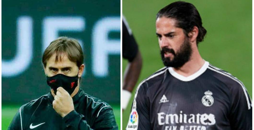 """Eduardo Inda: """"Isco estaría encantado de ir al Sevilla con Lopetegui""""    #RealMadrid #LaLigaSantander #Isco"""