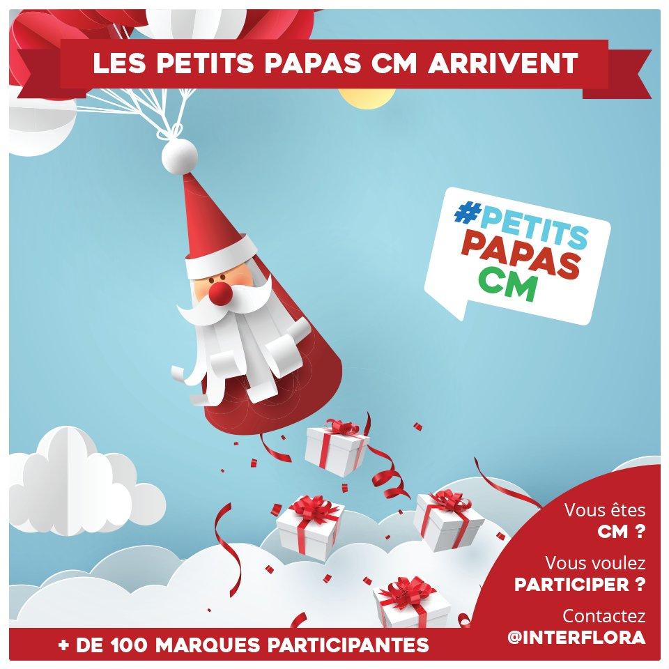 Hey ! Nous participons cette année à la hotte de Noël collaborative #PetitsPapasCM 🎅🎄 👉Mentionnez des CM sous ce tweet pour les pousser à participer 😉