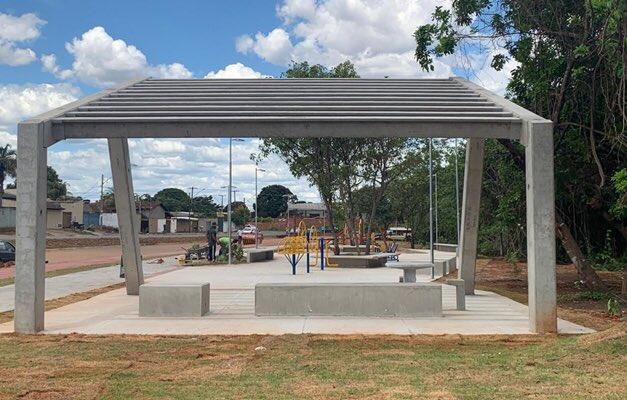 Prefeitura de Goiânia inaugura Parque Sebastião Júlio de Aguiar - https://t.co/si5m9ds9eZ https://t.co/qY6kWo80BG