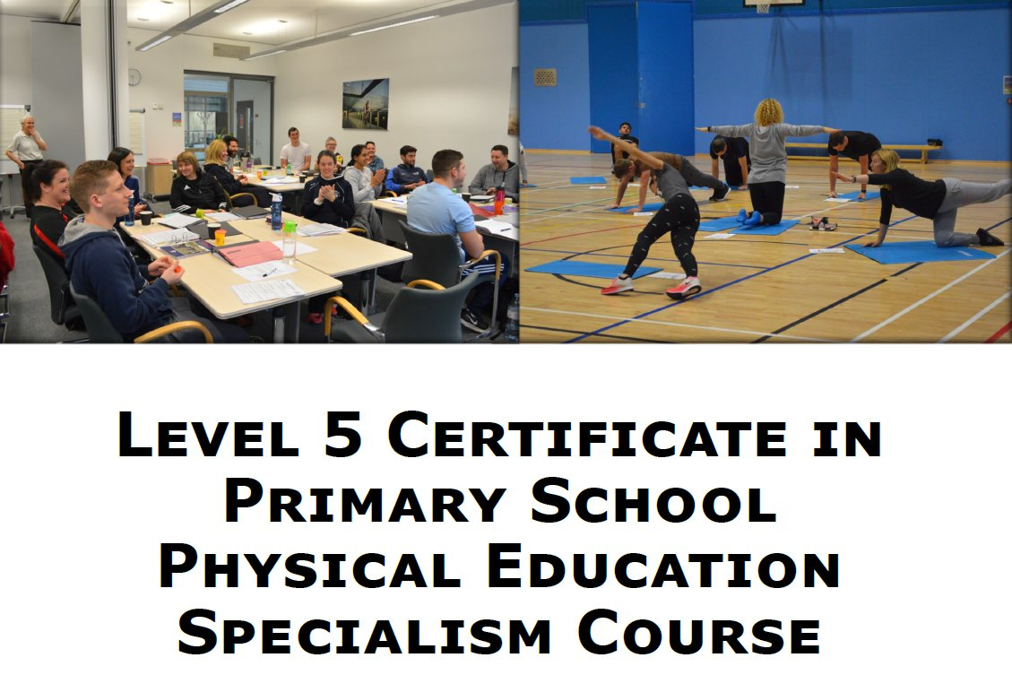 RT @LR_Sport: Level 5 Certificate in Primary School PE Specialism Course is now open for applications!  📆 Jan 2021-2022  🧑‍🏫Primary school teachers, future teachers and school support staff who want to improve the overall delivery of the PE curriculum can sign up  👉 https://t.co/FP1eRJT7Rh