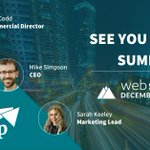 Image for the Tweet beginning: We'll be at #WebSummit tomorrow!