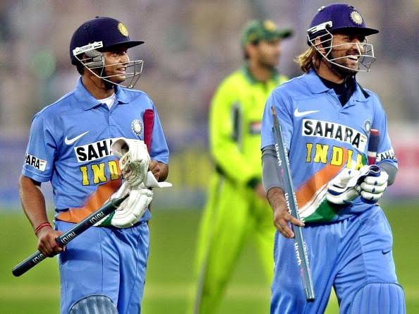 On This Day In 2006 💥✌   @MSDhoni & @ImRaina Made Their T20I Debut Against South Africa !!❤   #MSDhoni #Dhoni #SureshRaina #Raina