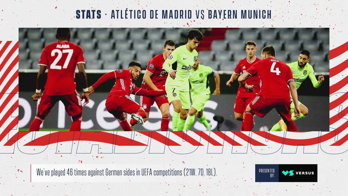 📈 The stats for #AtletiFCB, just for you.  ➡️   🔴⚪ #AúpaAtleti | ⭐ #UCL