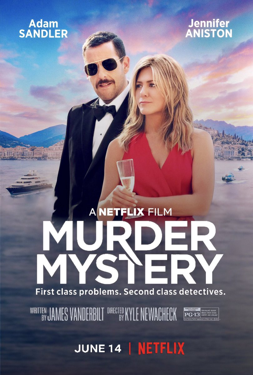 #comedy movies...  🍿 Murder Mystery (2019) 🍿 Spy (2015) 🍿 The Heat (2013) 🍿 Easy A (2010)  ⭐️⭐️⭐️⭐️⭐️ Recommend 👍🏻 (Mystery. Action. Romance) #RekomenFilem #RekomenByDy #Netflix #donewatching #rekomenmovie