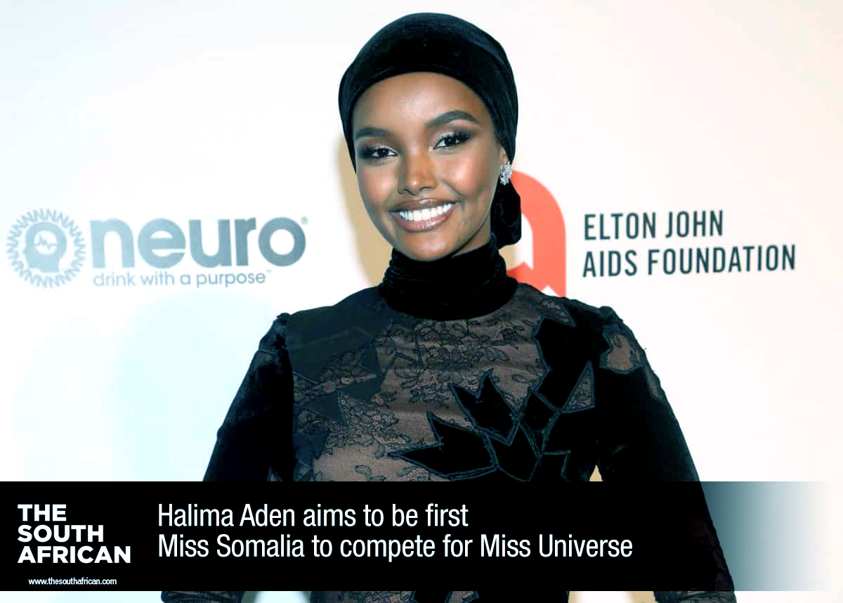 23-year-old model Halima Aden plans to take the crown at the annual international beauty pageant after accomplishing a number of firsts in her career, by BANG Showbiz #tsa #lifestyle #fashion #somalia #pageant #beauty #smile