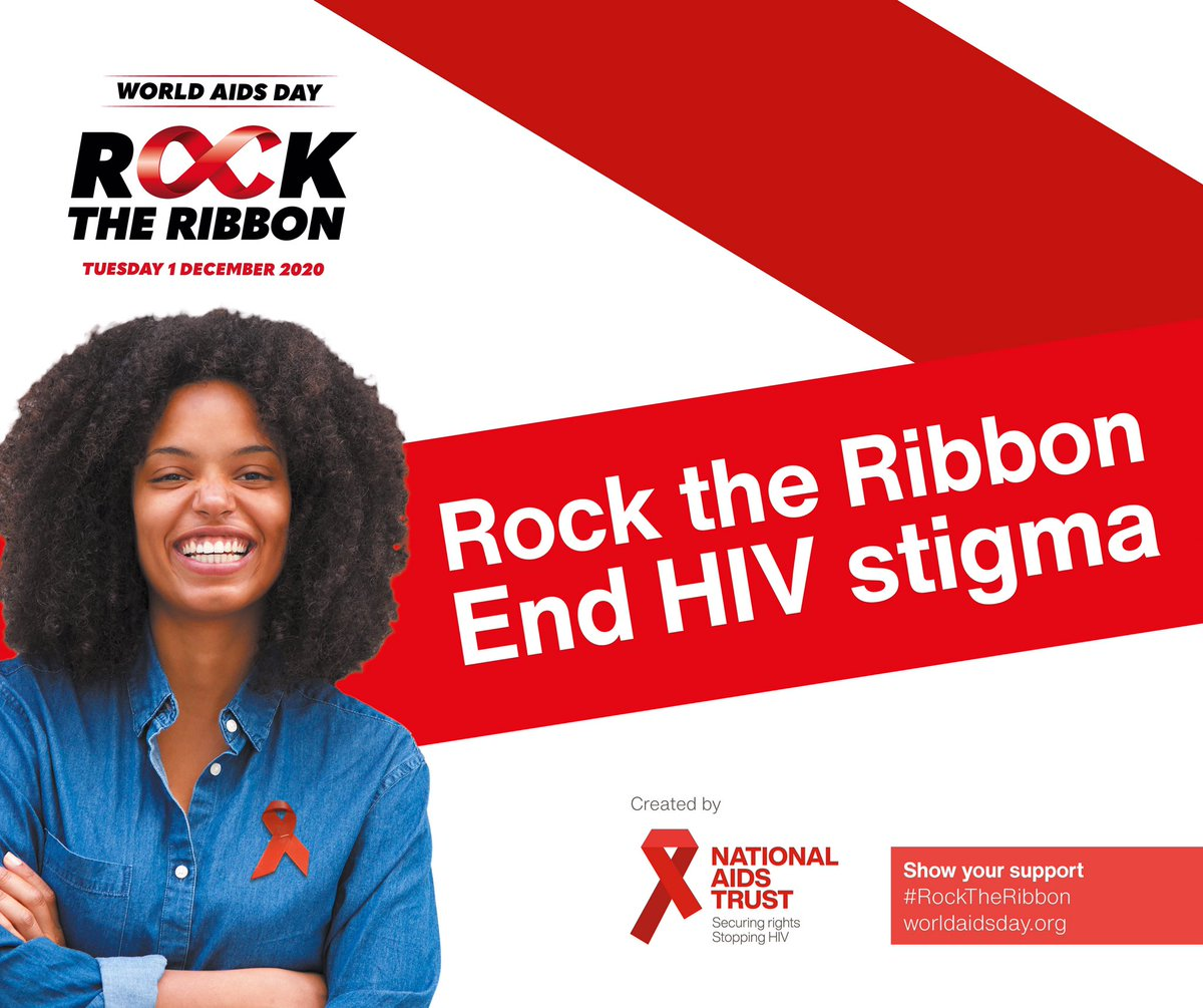 Today is #WorldAIDSDay We encourage all of our students to wear a red ribbon today to support World Aids Day.