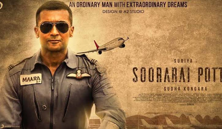 Film of the year #SooraraiPottru . What a gem 🔥.. @Suriya_offl 🙏🙏🙏 #SudhaKongara ❤️❤️❤️ @Aparnabala2 🌸.. @PrimeVideoIN .. Outstanding .. just the inspiration I needed 😭 Copy From @Samanthaprabhu2