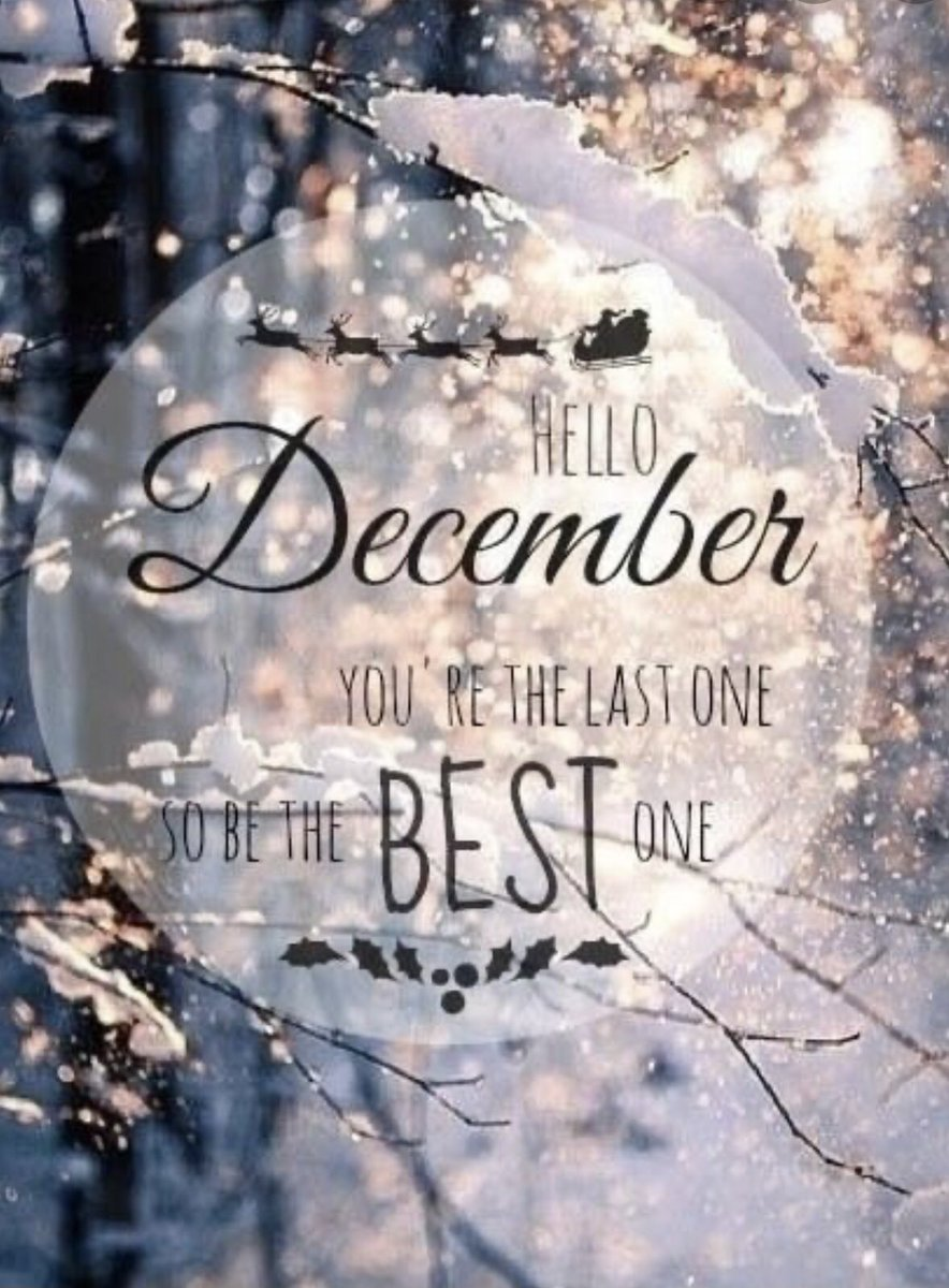 Wishing everyone a wonderful December!  Enjoy this month with family & friends! 🎄 #happydecember #welcomedecember #december #december2020 #christmas #holidays #joy #happiness #family #friends #enjoy ⛄️🎅🏼🤶🏻