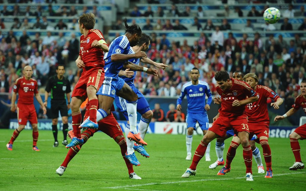 Thank You @didierdrogba for this!!! Don't think i've ever celebrated any goal like this one..... #Blessings