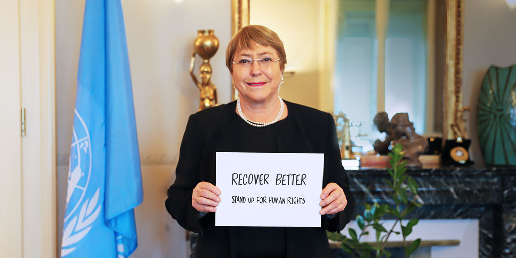 For this #HumanRightsDay, I call on everyone to put human rights at the heart of our efforts to #RecoverBetter.  I nominate @Winnie_Byanyima, @ForestWhitaker & @jack to join in this challenge, and invite you all to do the same.  #StandUp4HumanRights with me and @UNHumanRights. https://t.co/6KbIjFm0Os
