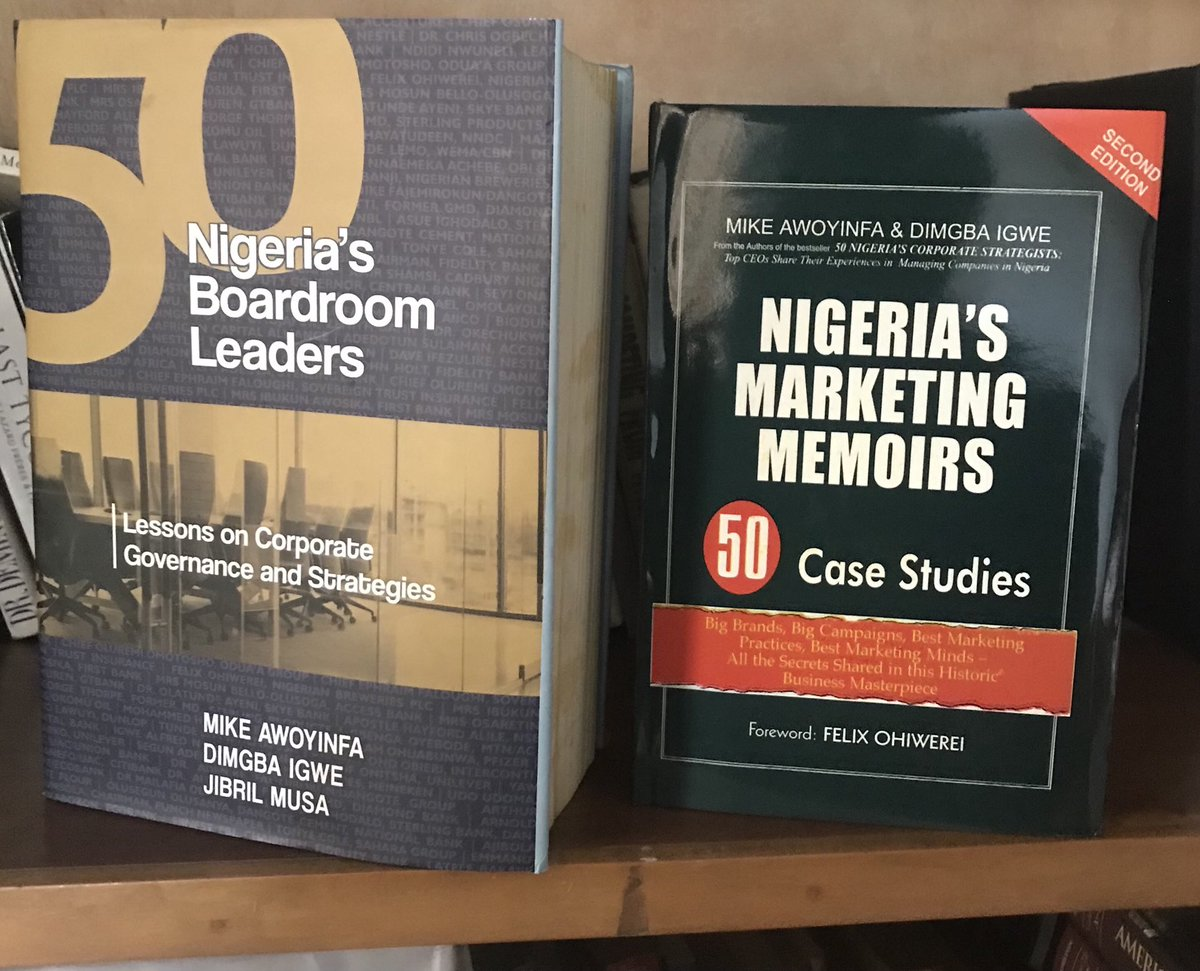 Best Black Friday Deal!!!  Two books you will buy for you boss and mentor for Xmas and he or she will cherish it forever.  Call 08055001923 for the best discount! https://t.co/yWG1OrMg4c