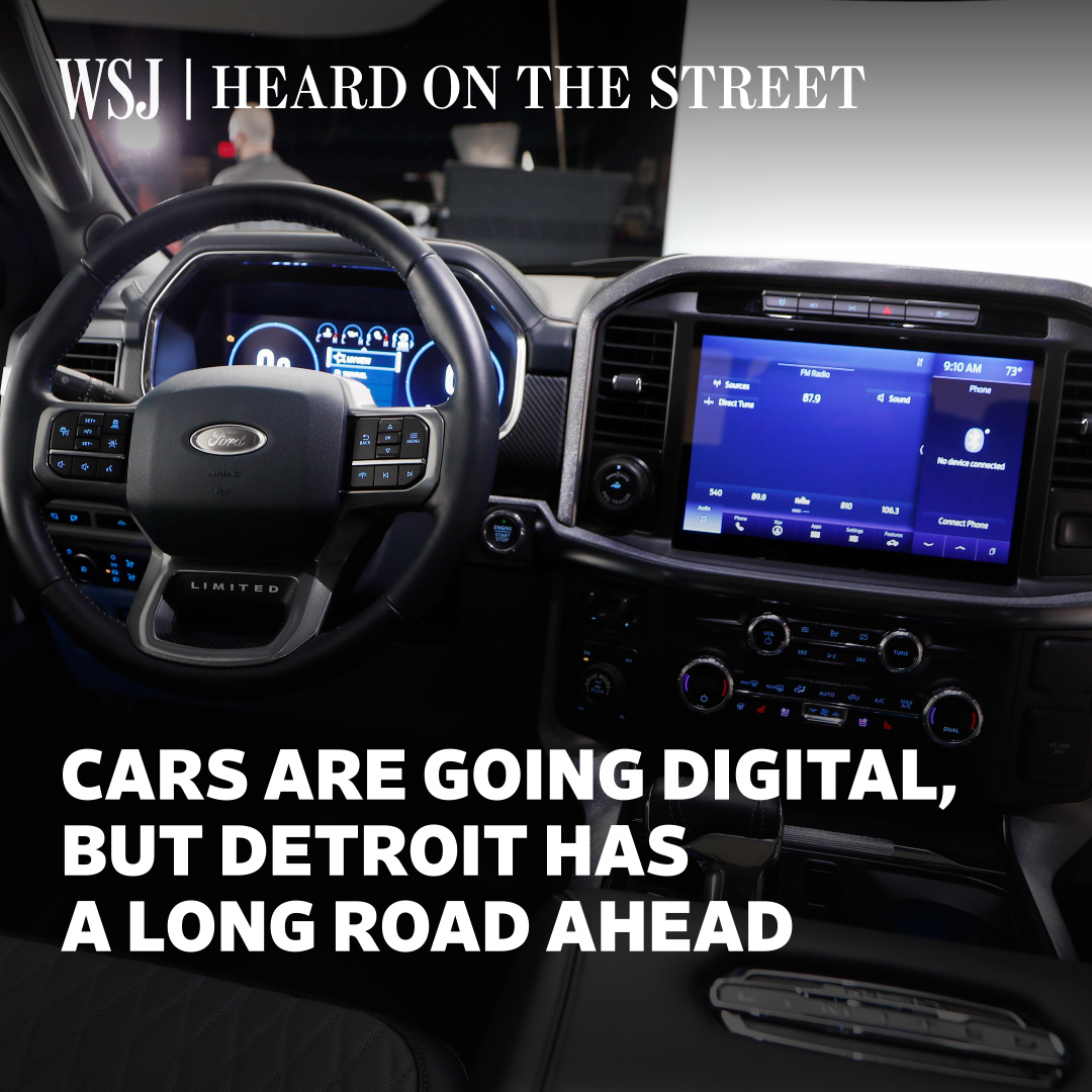 The transformation of vehicles into giant smartphones is shifting up several gears, but investors shouldn't be dazzled by parallels with more fashionable tech industries, @WSJheard explains #WSJWhatsNow