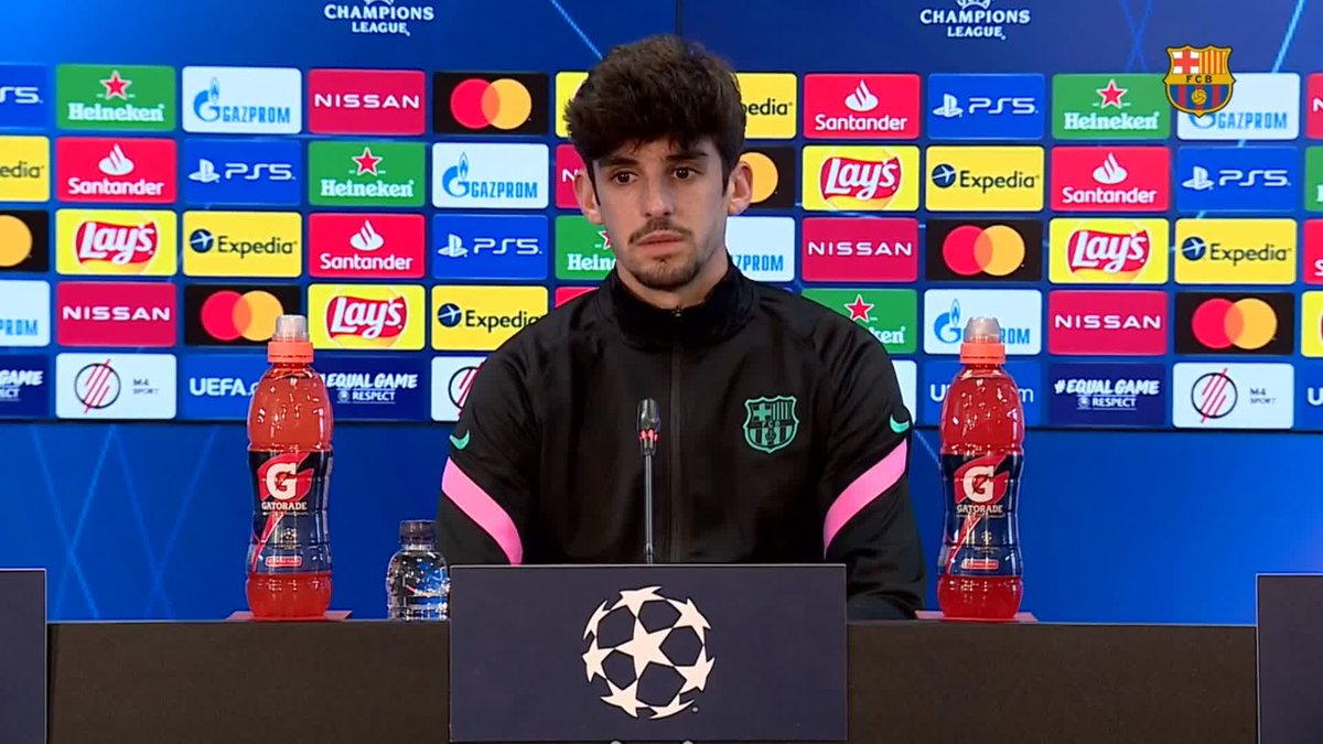 ⚡️ LIVE NOW! ⚡️ @ChampionsLeague press conference with Francisco Trincão!  📺 Watch: